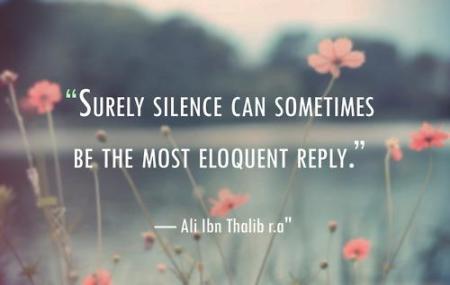 9. Silence